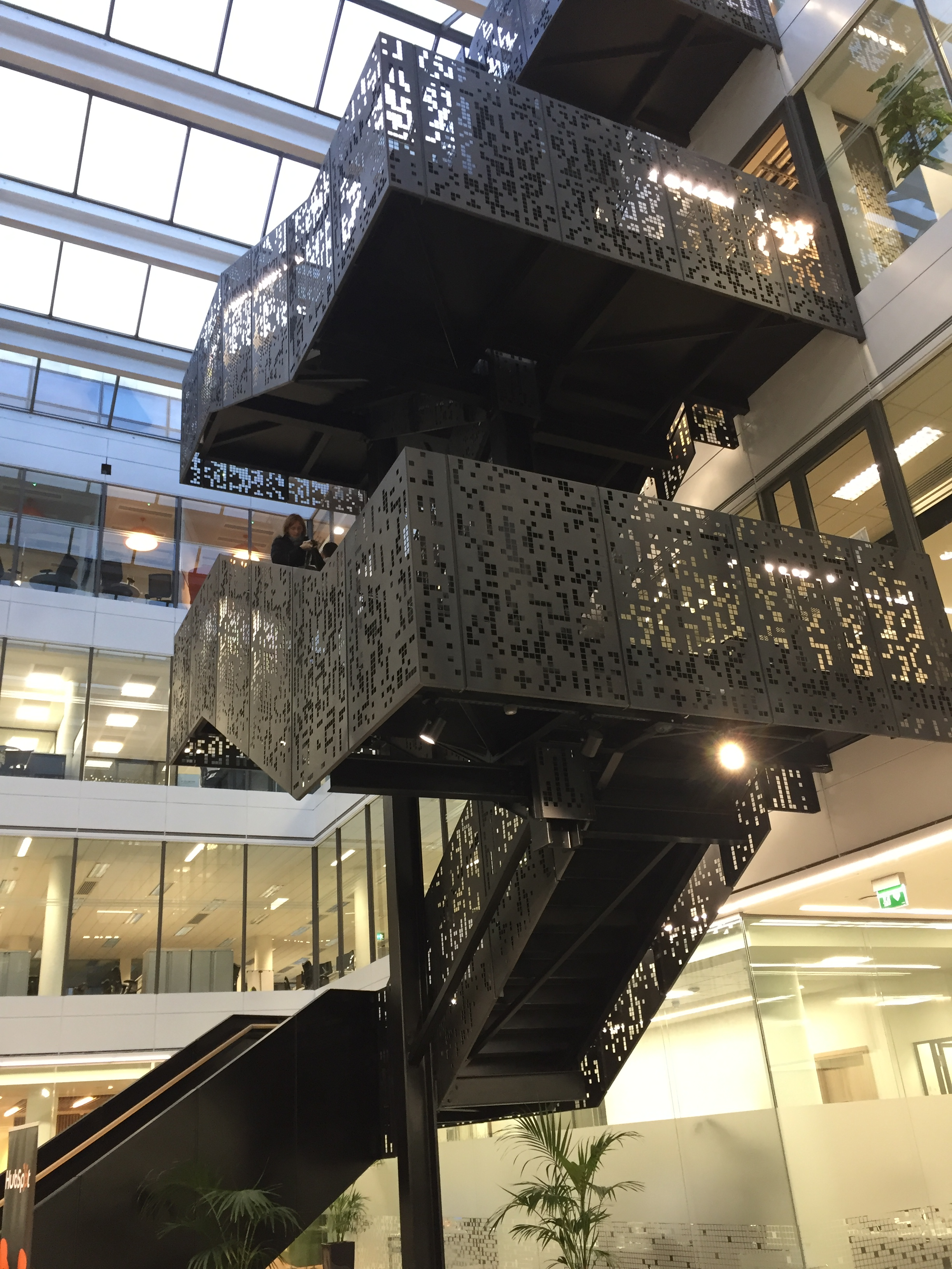 Feature Staircase at No. 1 Docklands